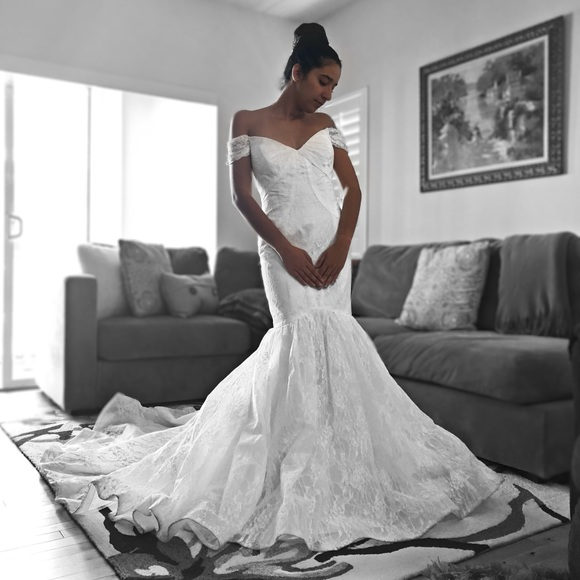 Zac Posen Dresses | Truly Wedding Dress Size 14 | Poshmark